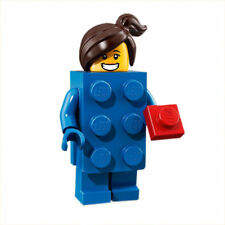 Lego Series 18 Minifigure - #3 Blue Brick Suit Girl - new Opened To Verify