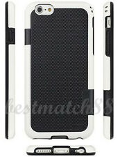 for iPhone 6 plus and 6s plus phone white black back case shockproof waterproof