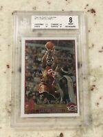 🔥 2003 2004 03-04 Topps Chrome Lebron James #111 ROOKIE RC BGS 8 High Subs 10