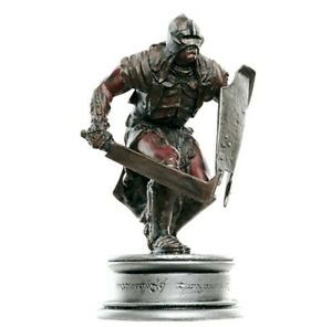 EAGLEMOSS Lord Of The Rings Chess Collection 77 URUK HAI WARRIOR Pawn NoMagazine