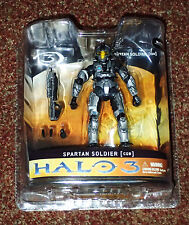 Halo 3 Series 1 SPARTAN SOLDIER CQB STEEL EXCLUSIVE FIGURE W  RIFLE GRENADES