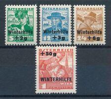 Ungeprüfte Briefmarken (bis 1945) mit Falz österreichische