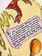 Nicole Miller Dinosaur Mens Neck Tie 1993 Jurassic Allosaurus Dino 100% Silk