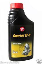 1L TEXACO geartex ep-c 80W-90 MERCEDES VOLVO MAN GL-5 UNI Hypoid-Getriebeöl