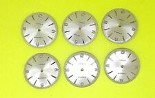 6 X New Dials Eta 2390 For Watch Parts 32 Mm Lot
