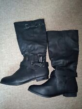New Look Size 6 Black Calf Boots **New With Tags**