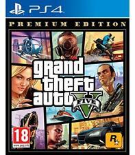 Juego PS4 Grand Theft Auto GTA 5 V - Premium Edition - PAL ES - Nuevo y Fisico