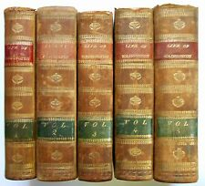 1804-07 John Marshall THE LIFE OF GEORGE WASHINGTON 5 vols tree calf