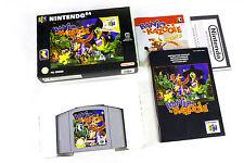 Banjo-Kazooie for Nintendo 64, N64 by Nintendo, 1998, Platform, Puzzle-Solving