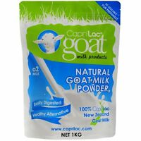 New CapriLac A2 Goat Milk Powder 1kg