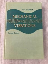 Mechanical Vibrations by W. T. Thomson second edition printed 1956