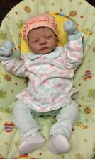 True Reborn Baby Girl W/Wardrobe And Extras-Free Ship