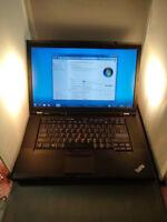 Lenovo ThinkPad T510 Core I5-M520@2.40 GHz 2GB RAM 250 GB HDD WIN 7. PRO