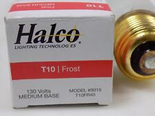 Halco 130V Medium Base Frist Bulb T10 / 9015 Nib