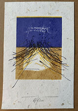 Martin BAEYENS (B) exlibris Hermann Wiese Abstract Graphic signed