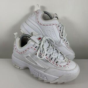 Fila Disruptor Trainers Size UK 5 EU 38.5 Womens White Sneakers