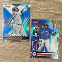 VLADIMIR GUERRERO JR. 2019BOWMAN'S BEST 2 CARD LOT RC REFRACTOR BLUE JAYS