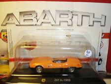 1/43 Abarth 207 A 1955 + Brochure Hachette N 21