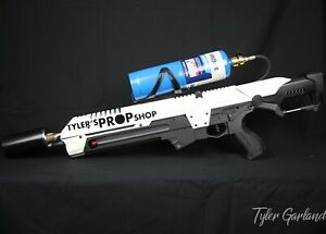 """Not a Flamethrower Tactical Torch """"Boring White"""""""