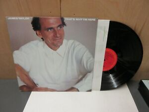 JAMES TAYLOR - THAT'S WHY I'M HERE - COLUMBIA FC 40052 LP~Vinyl NM *