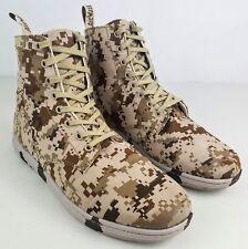 Dr. Martens Air Wair Alfie Desert Pixel Coyote Canvas Camo Boot Doc Mens Size 13