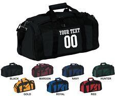 Gym Bag BG970 Custom Your Text Number Travel Luggage Sports Duffle Duffel Bag