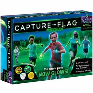 Capture the Flag REDUX: An Outdoor, Glow-in-the-Dark Group Game  - REFURBISHED