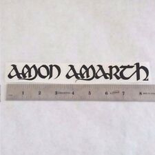 AMON AMARTH Vinyl DECAL STICKER BLK/WHT/RED Heavy Metal BAND Logo Window Guitar