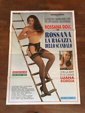 MANIFESTO 2F P,ROSSANA LA RAGAZZA DELLO SCANDALO,DOLL LUANA BORGIA SEX EROS HARD