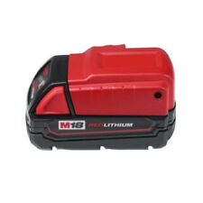 USB Power Cell Phone Charger Cordless Jobsite Milwaukee 18v Battery Adapter Tool