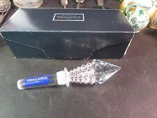 Villeroy & Boch Crystal Stopper Mint in Box