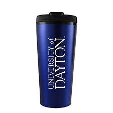 University of Dayton -16 oz. Travel Mug Tumbler-Blue