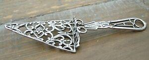 Quirky Solid Silver Trowel Ceremonial Item / Gift Idea Freemason Mason Masonic