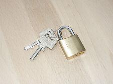 Burg Wächter 116/25 Vorhängeschloss Sicherheitsschloss Bügelhöhe: 20mm Messing