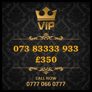 07383333933 Vip Mobile Number Gold Special Cherished UK Easy Mobile Phone Number
