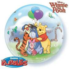 """22"""" BUBBLE BALLOON """"WINNIE THE POOH & FRIENDS"""" PARTY DECORATION - STRETCHY"""