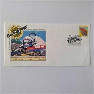 Australian Formula One Grand Prix Two Adel 13 Nov 1987 Post Cover (AP10)