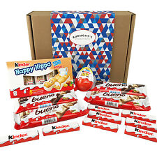 The Ultimate Kinder Selection Gift Box - Bueno, Kinder Joy, Happy Hippo & More