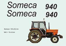 Kit stickers tracteur Someca 940