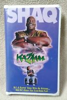 KAZAAM Vhs Video Tape 1997 Shaquille O'Neal Movie Genie Clamshell Case VGC