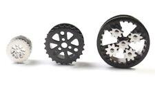 1 Screw Fit Cog Steampunk Star Bike Gears Earing Tunnel Ear plug Expander Saddle