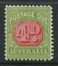 Australia 1934 4d Postage Due mint o.g. hinged