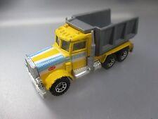 Matchbox: Peterbilt Construction Pace-Truck, 1:80 Scale, made in Macau (SSK65)