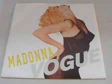 "MADONNA Vogue Ex+ Sire 1990  P/S 7"""