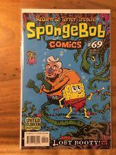 SPONGEBOB COMICS 69 & 70, NM+ 9.6, 1ST PRINT, LOST BOOTY PART 4 & 5, CGC WORTHY