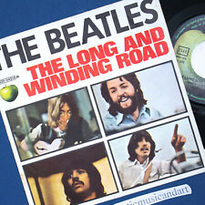 THE BEATLES LONG AND WINDING ROAD  7 INCH VINYL 1970 APPLE ITALY ORIGINAL RARE