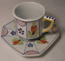 New listing Quimper- (France) Tea Cup and Saucer