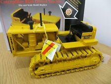 NZG/NORSCOT CAT RD8 DIESEL TRACTOR CATERPILLAR DIECAST MODEL CAT RARE 1:25 MODEL