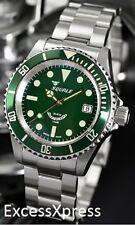 "Brand New Squale Y1545 20 Atmos ""Mint"" Green Watch Warranty Swiss Made"