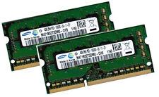 2x 4gb 8gb ddr3 1333 de RAM para medion Erazer x7815 Samsung pc3-10600s